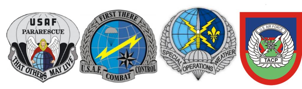 AFSPECWAR emblems