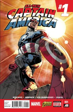 Sam Wilson Captain America comic book cover