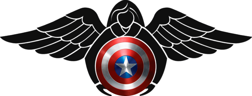 Pararescue Captain America shield