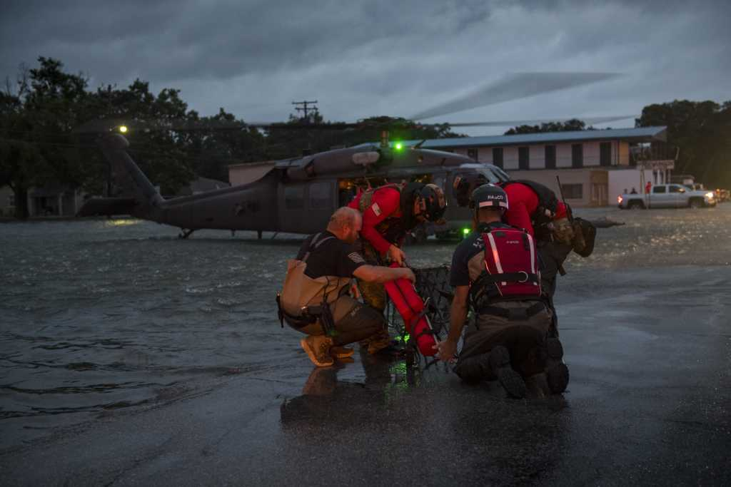 Pararescue Hurricane Harvey