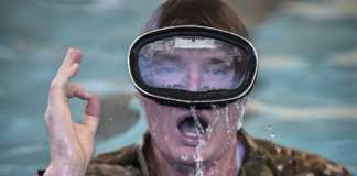 water confidence special warfare