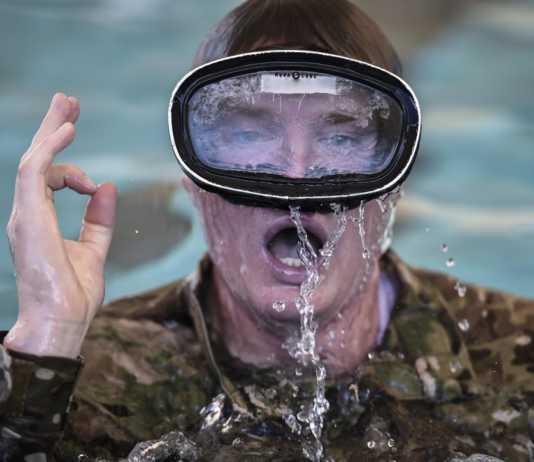 water confidence special warfare
